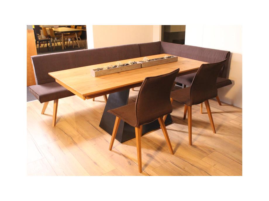 Esstisch mit Bank und 2 Stühlen 01