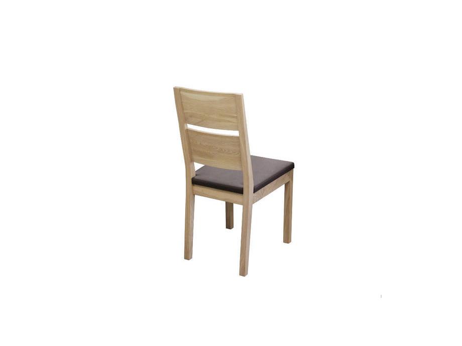 Eckbank SANO und 2 Stühle SILENT in Holz 03