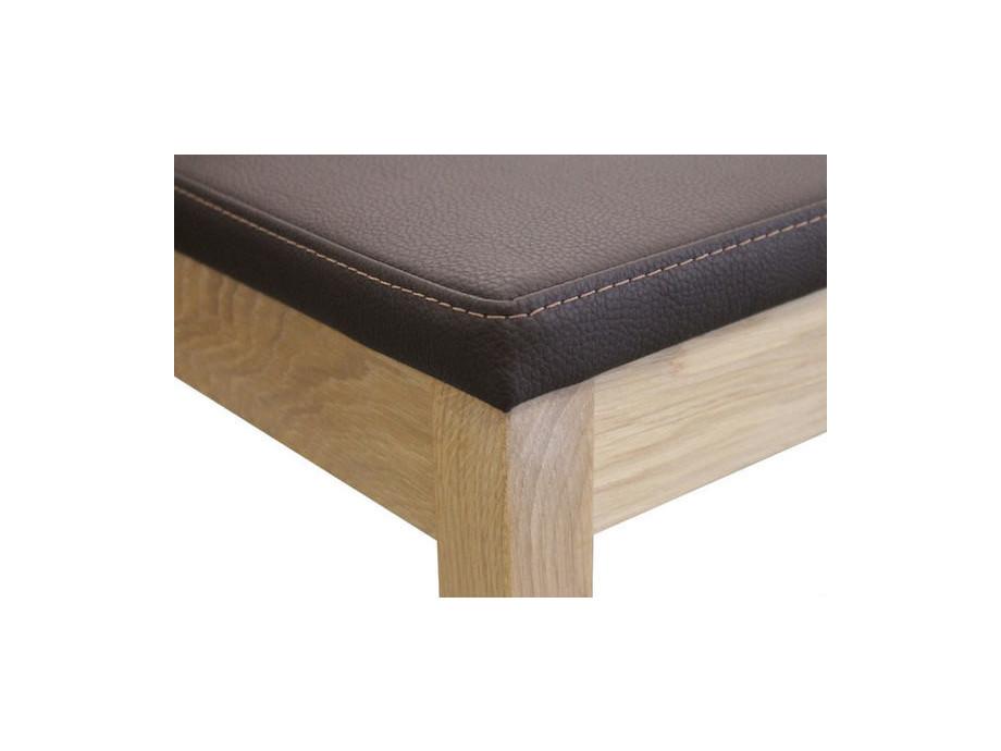 Eckbank SANO und 2 Stühle SILENT in Holz 04