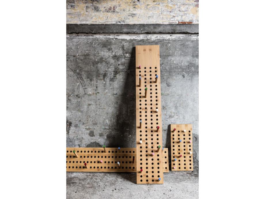 Gardarobe Scoredboard small vertikal-Bambusholz Nachhaltig 04