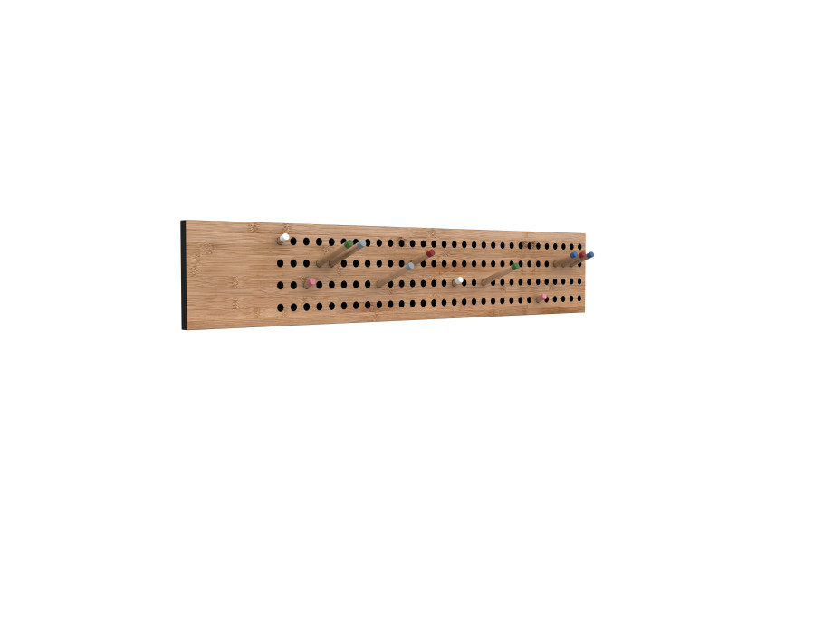 Gardarobe Scoredboard Large Horizontal-Bambusholz Nachhaltig - Kopieren - Kopieren 07