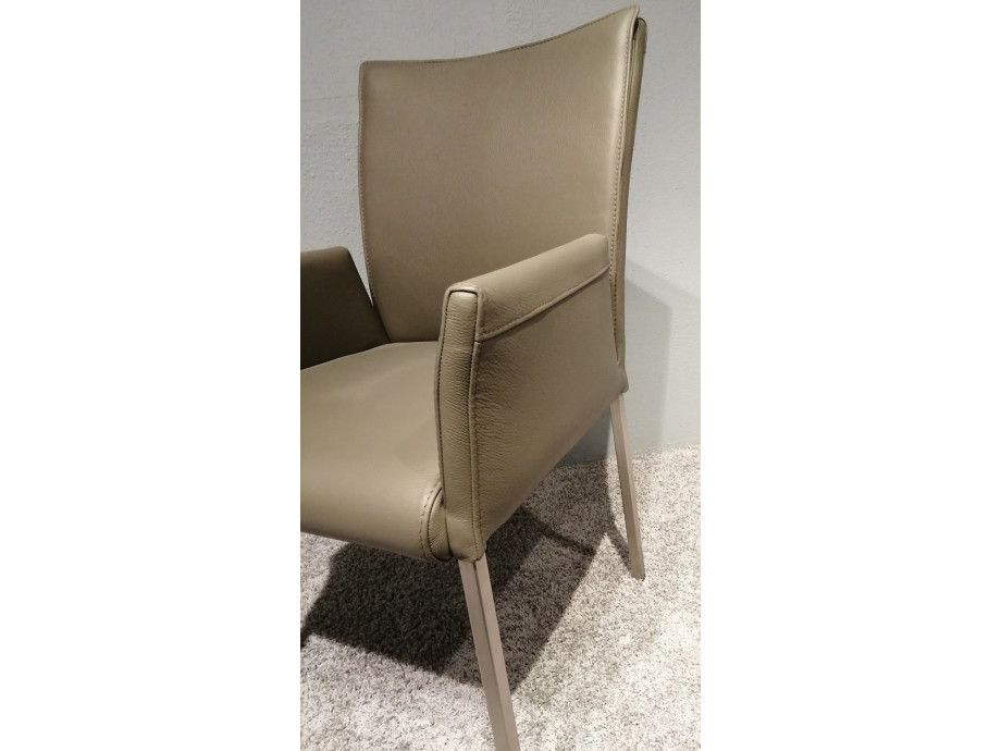 6 Stühle Leon Echtleder Lüönd 06