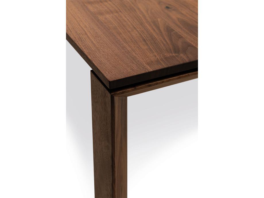 Auszugtisch Valbella Amerik. Nussbaum 160+80 x 95cm Lüönd 07