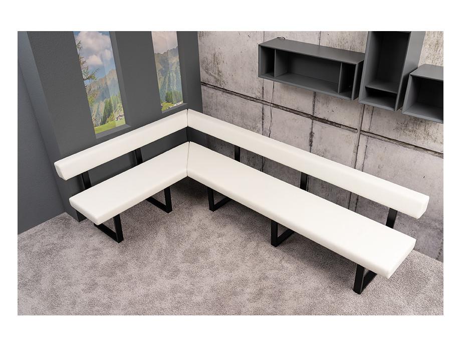 Tischgruppe mit Eckbank und 3 Stühlen Lüönd 02