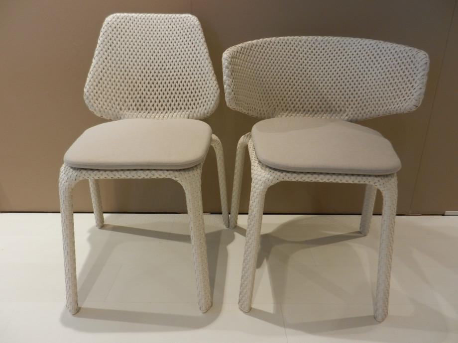 4 Stühle Seashell von Dedon 01