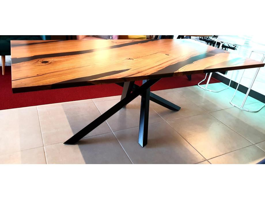 Esstisch Abonos Elegant Table mit Epoxid 07