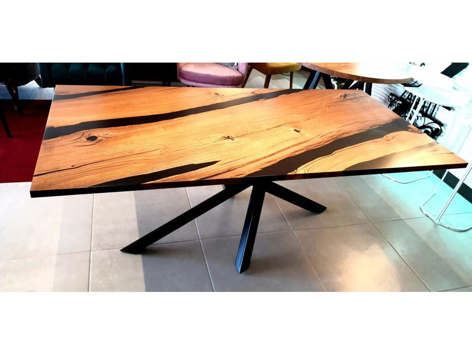 Esstisch Abonos Elegant Table mit Epoxid 08