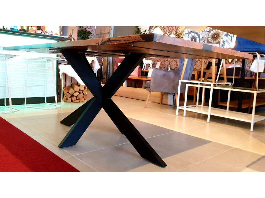 Esstisch Abonos Star Table mit Epoxid 06