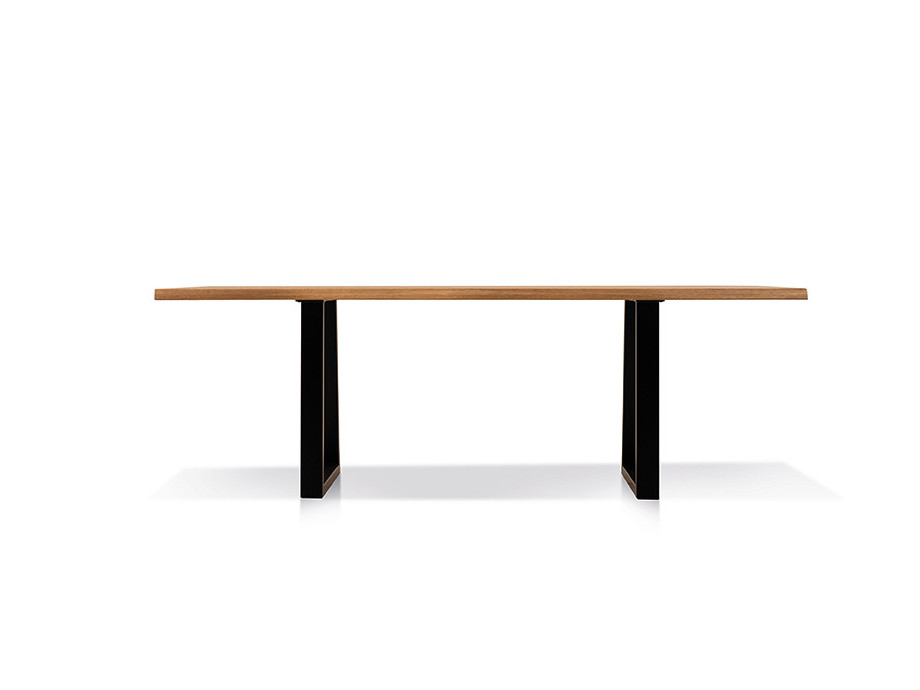 Esstisch mit Ecksitzbank Arogno Ast-Eiche 220 x 100 cm Lüönd 03
