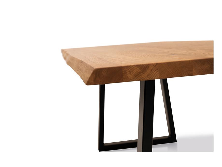 Esstisch mit Ecksitzbank Arogno Ast-Eiche 220 x 100 cm Lüönd 06