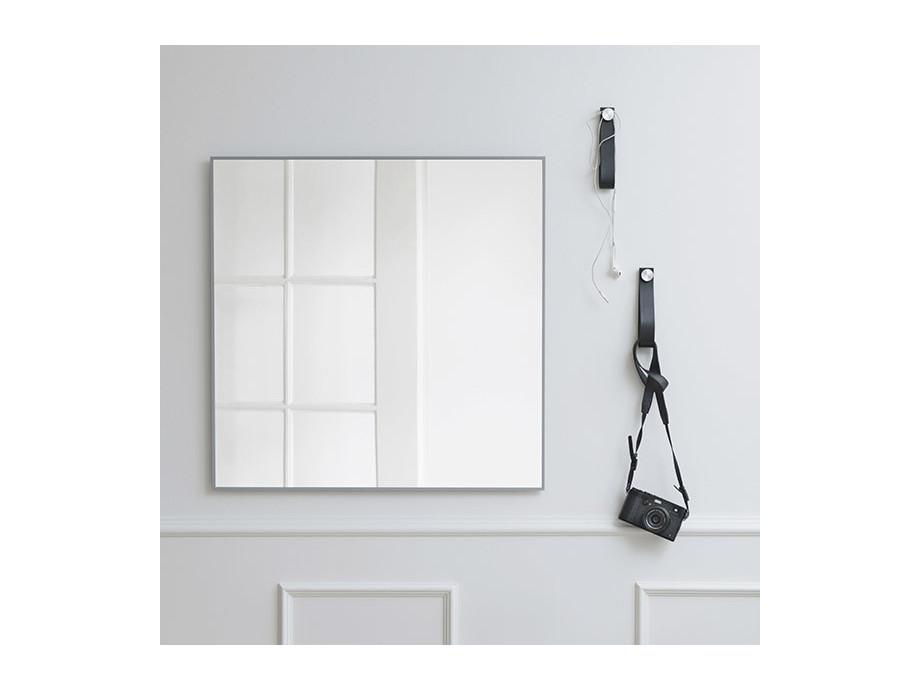 """Spiegel """"View"""" 70x70cm, schwarz 03"""