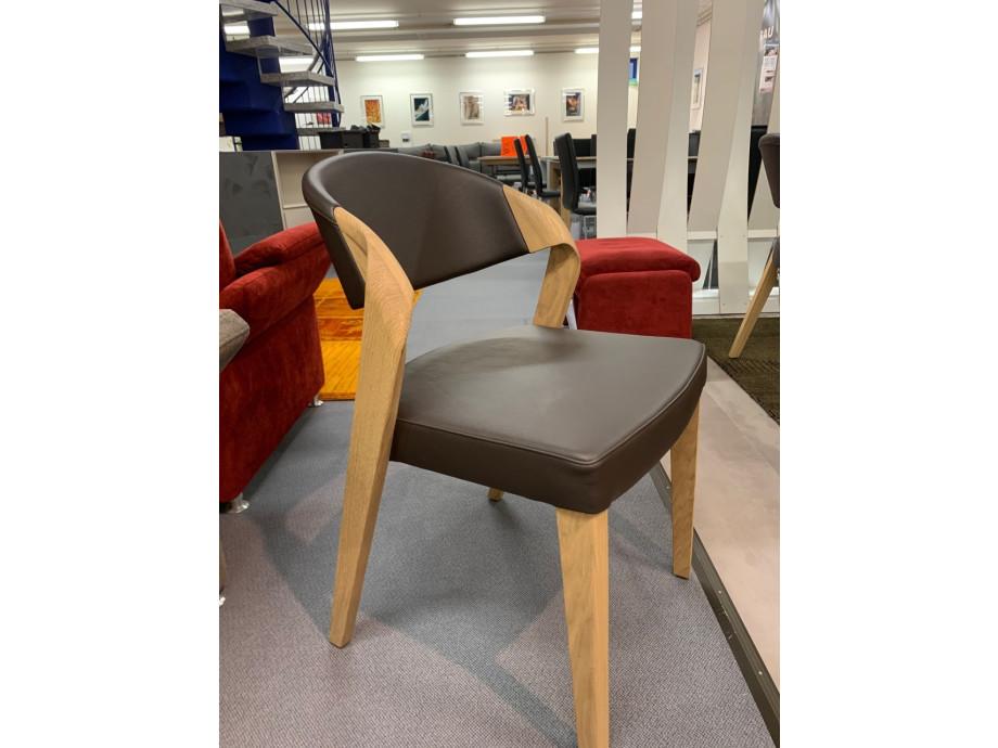 Esstisch massiv von Voglauer mit Auszug komplett mit 6 Stühlen 01