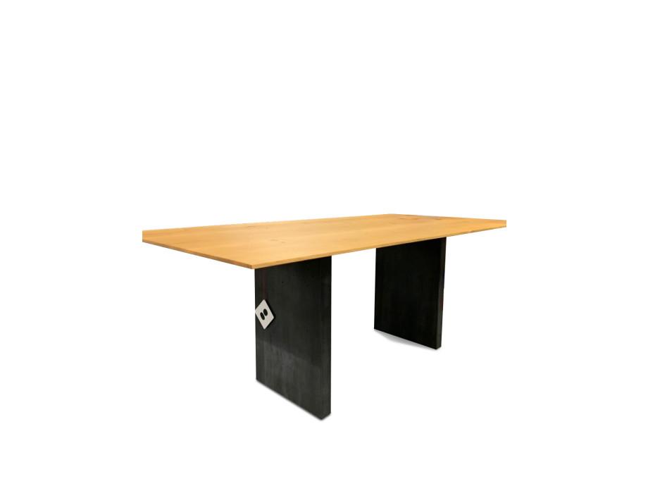 Tisch Asteiche Modell Henry von Girsberger 100 x 200 cm 11