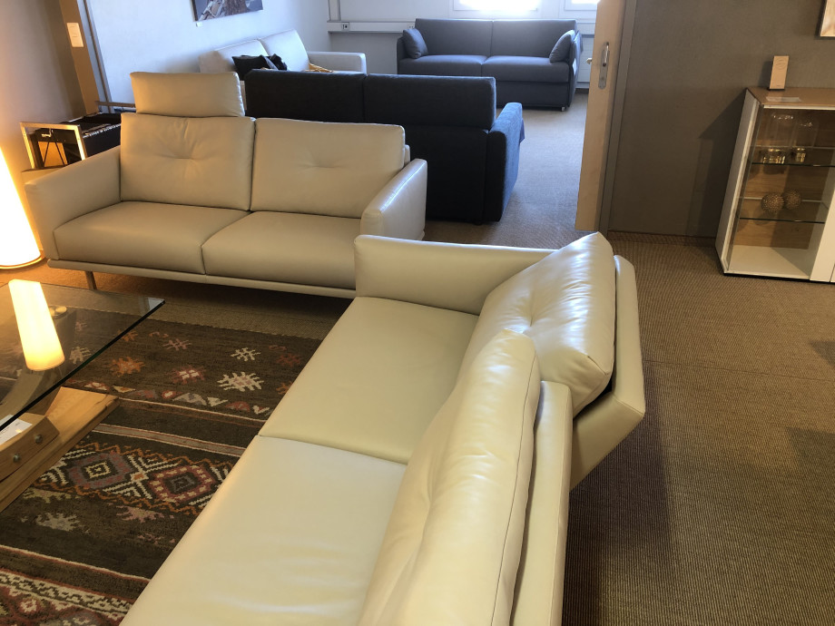 Sofa Combination Mellow By Intertime Switzerland In Leather Solovivo