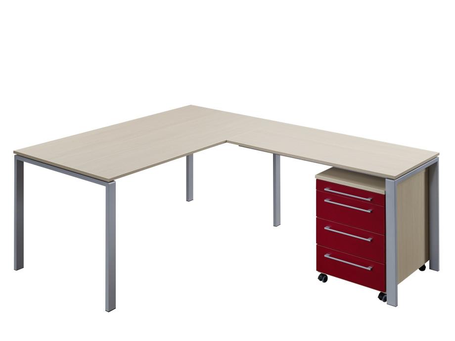 Home-Office Schreibtisch mit Korpus 01