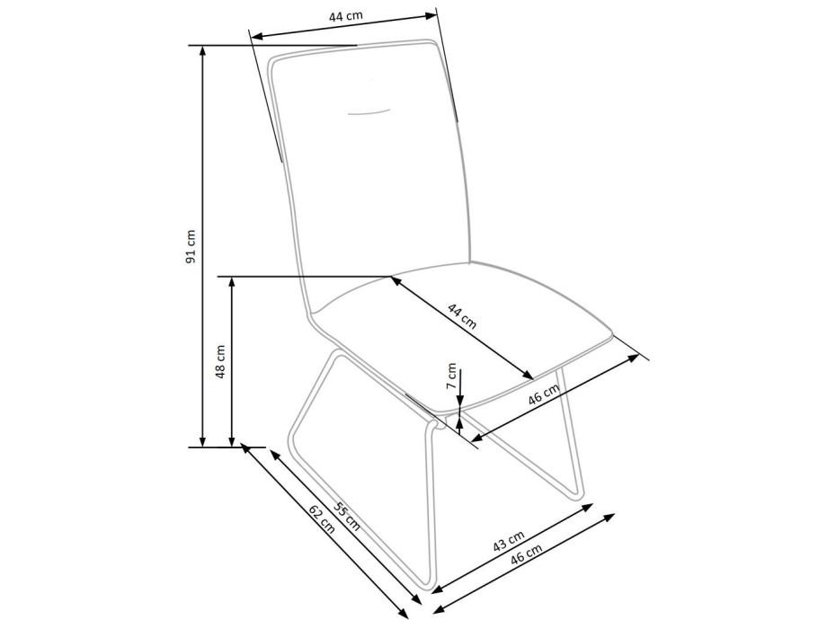 Stuhl Sid moderner Design 01