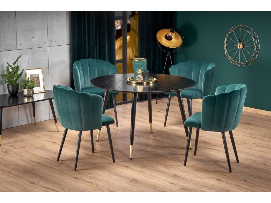 Samt Sessel-Stuhl Embos 01