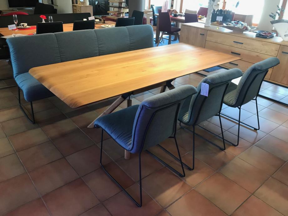 Zweigl Bank mit 3 Stühlen 04