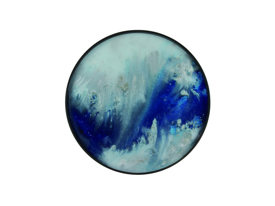Glastablett blauer Nebel 02