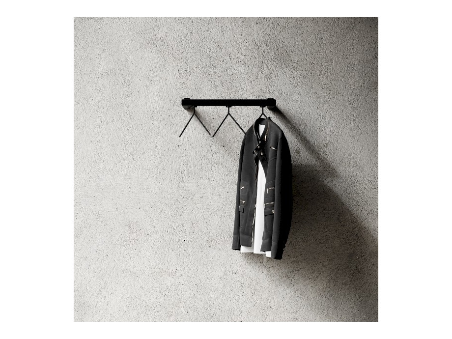 Kleiderständer Nichba Design - HangSys Garderobe L100cm x T26cm 02