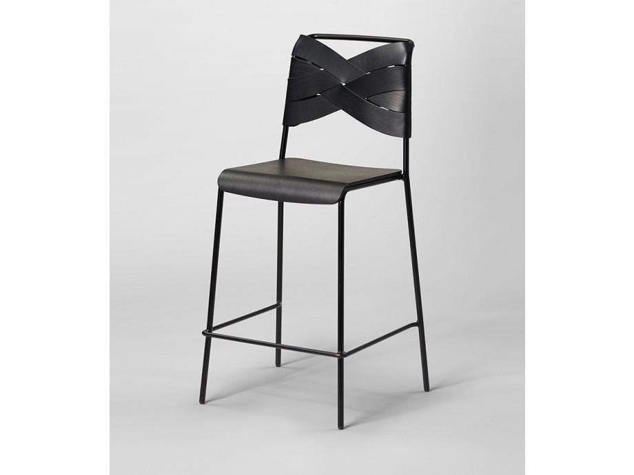 Barhocker Torso Designhouse Stockholm - schwarz 01
