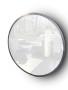 Holzspiegel Silber