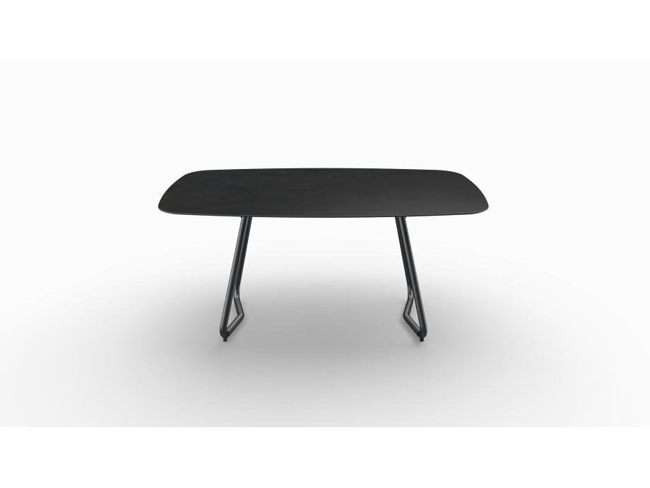 Gartentisch JURA (Tischgestell Stahl eisengrau, Tischplatte Sirius) 02
