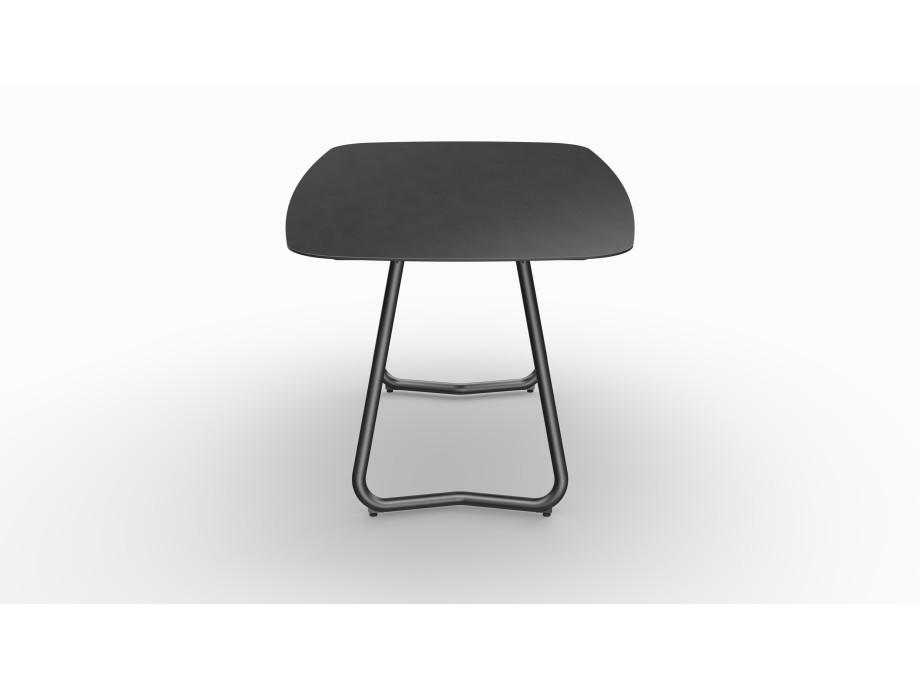 Gartentisch JURA (Tischgestell Stahl eisengrau, Tischplatte Sirius) 03