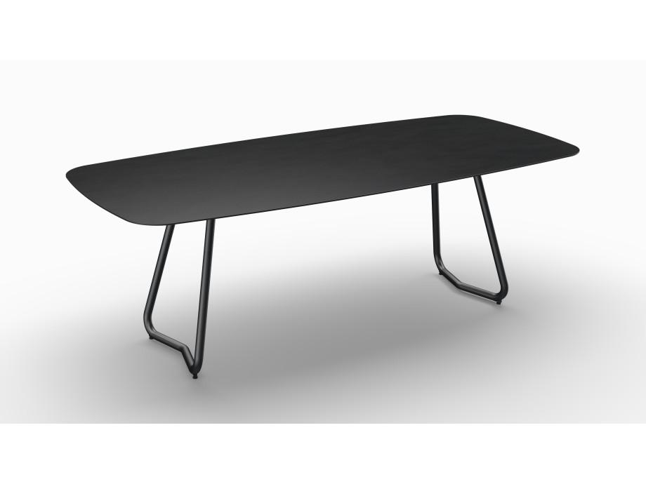 Gartentisch JURA (Tischgestell Stahl eisengrau, Tischplatte Sirius) 06