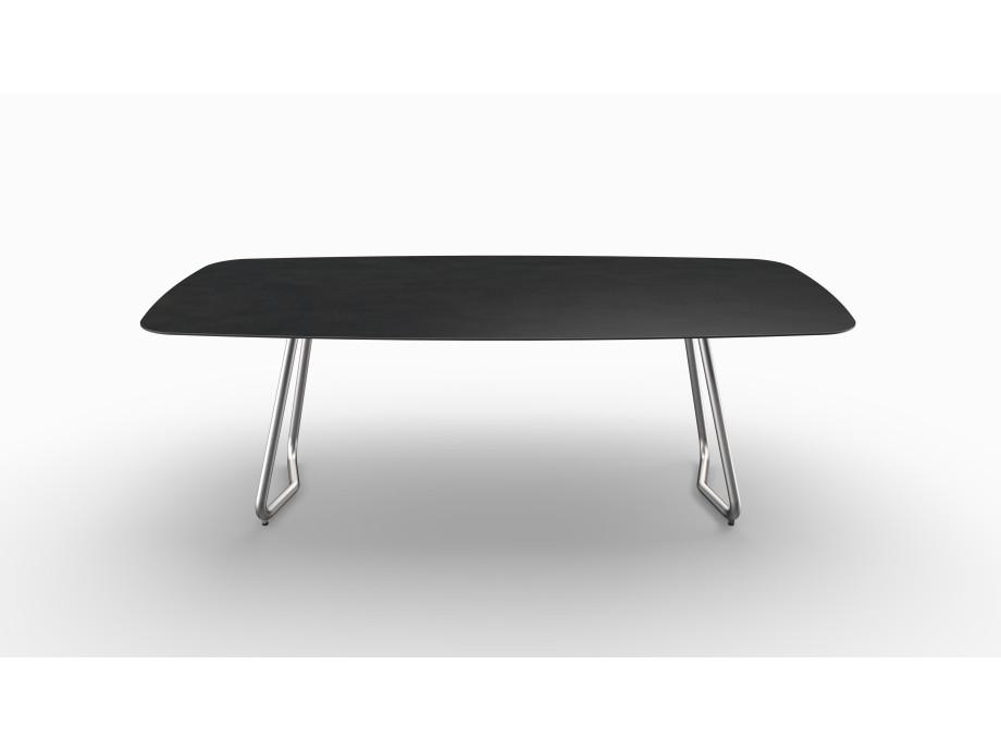 Gartentisch JURA (Tischgestell Edelstahl, Tischplatte Sirius) 07