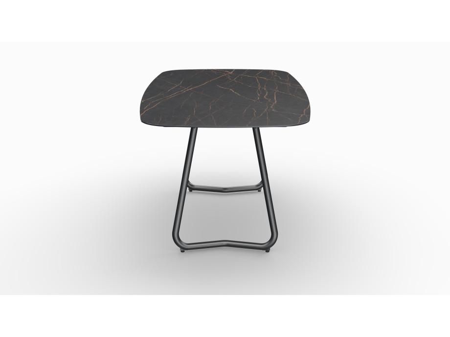 Gartentisch JURA (Tischgestell Stahl eisengrau, Tischplatte Laurent) 03