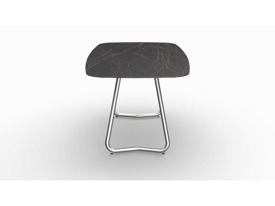 Gartentisch JURA (Tischgestell Edelstahl, Tischplatte Laurent) 03