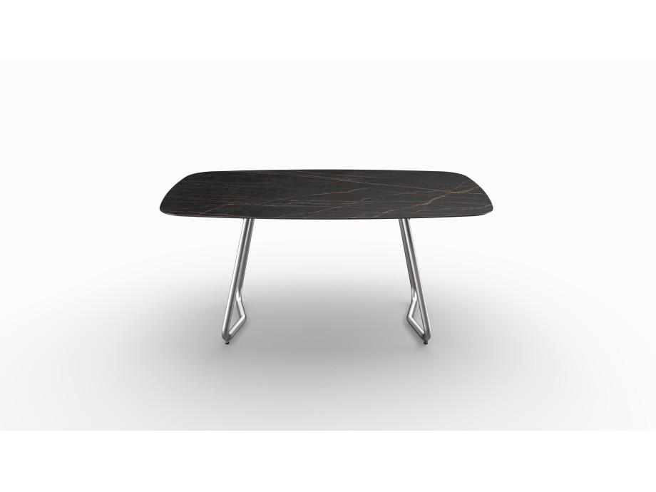 Gartentisch JURA (Tischgestell Edelstahl, Tischplatte Laurent) 02