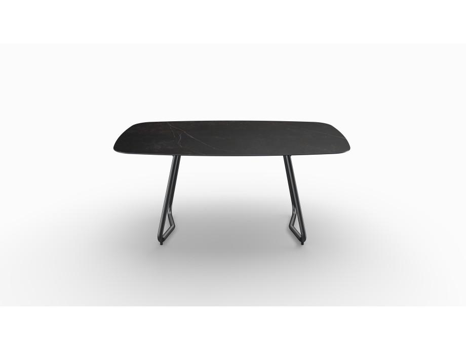 Gartentisch JURA (Tischgestell Stahl eisengrau, Tischplatte Kelya) 02