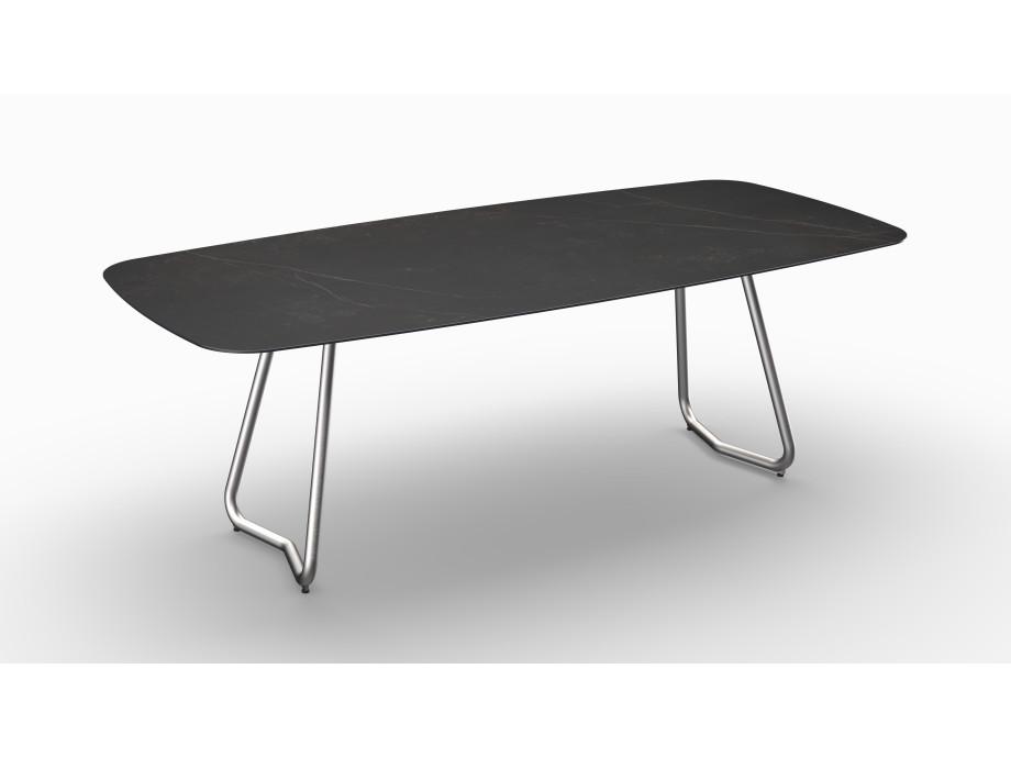 Gartentisch JURA (Tischgestell Edelstahl, Tischplatte Kelya) 06