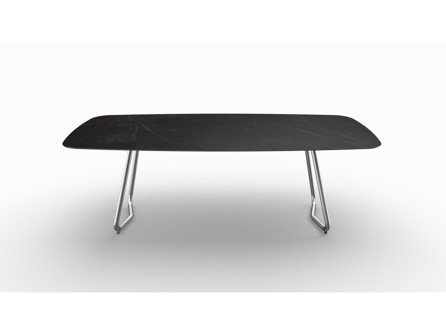 Gartentisch JURA (Tischgestell Edelstahl, Tischplatte Kelya) 07
