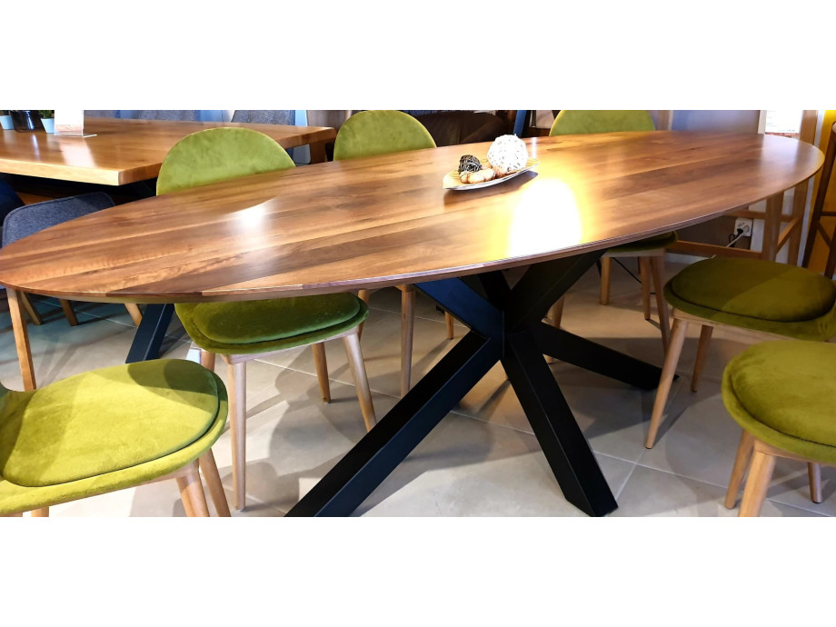 The WOW oval Walnut Table 12