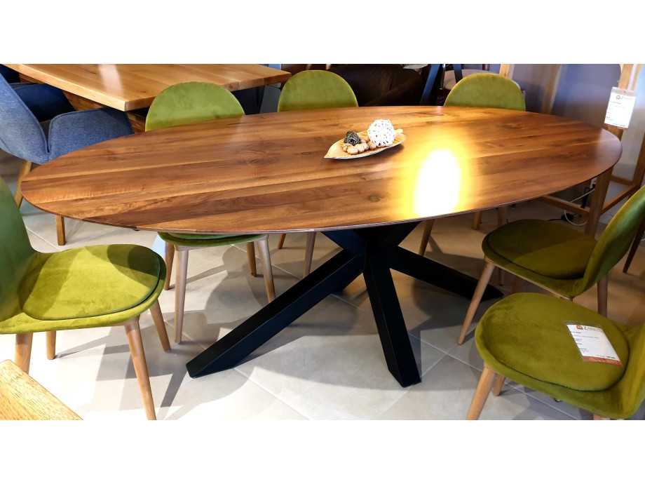 The WOW oval Walnut Table 14