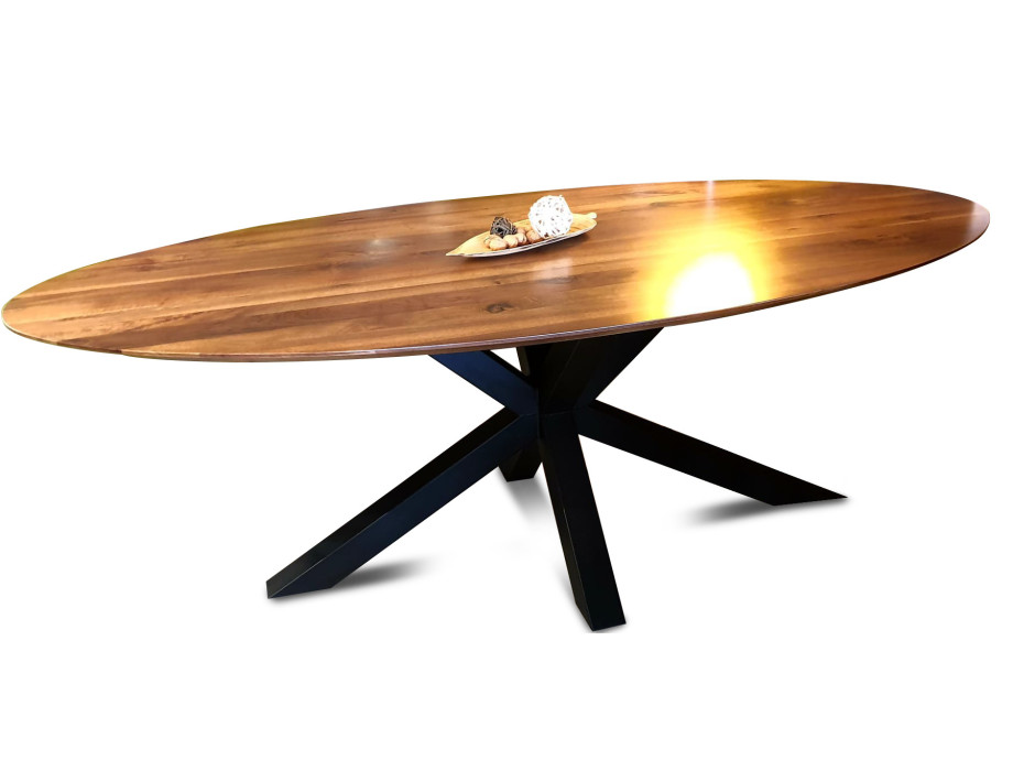 The WOW oval Walnut Table 11