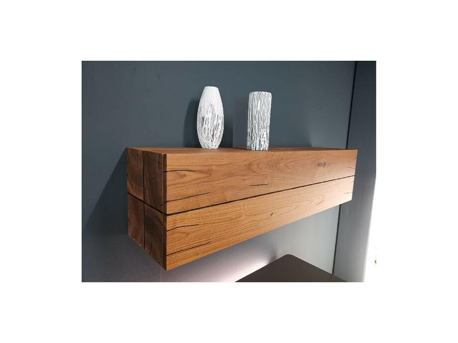 Sideboard hängend GENTIS mit Akzentelement Kernnussbaum 05