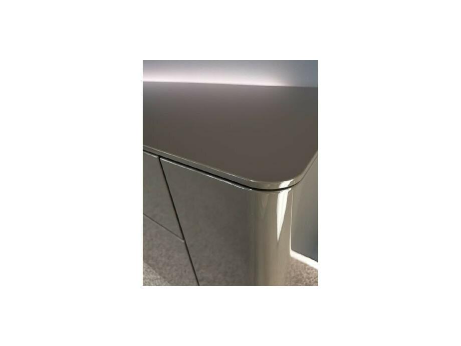 Sideboard hängend GENTIS mit Akzentelement Kernnussbaum 07