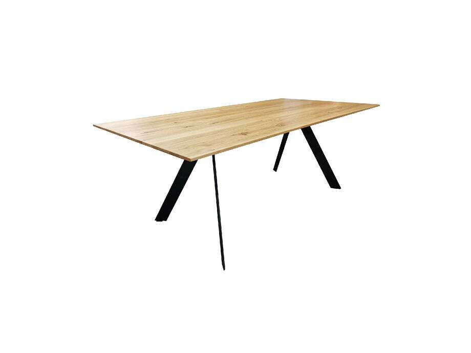 Tisch ATELIER Eiche massiv 200 x 100 cm 01