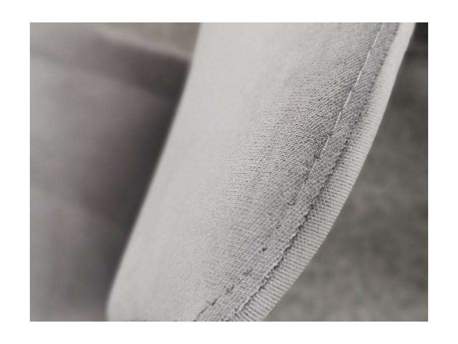 Stuhl CAROLA Vierfuss Stoff grau 02