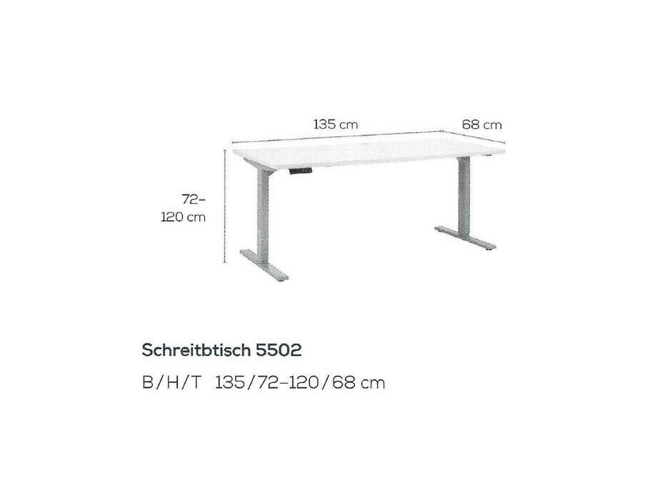 Schreibtisch höhenverstellbar elektrisch 04
