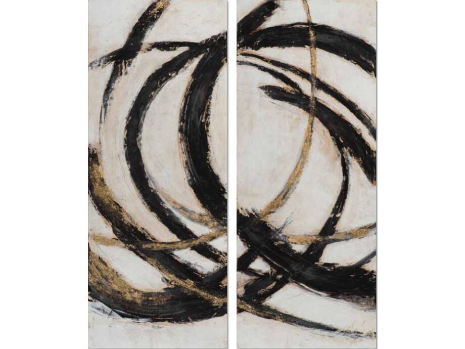 Bild Abstract 2-Teilig 02