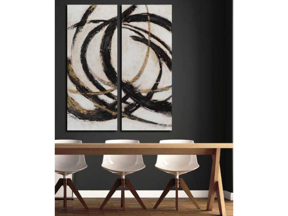 Bild Abstract 2-Teilig 03