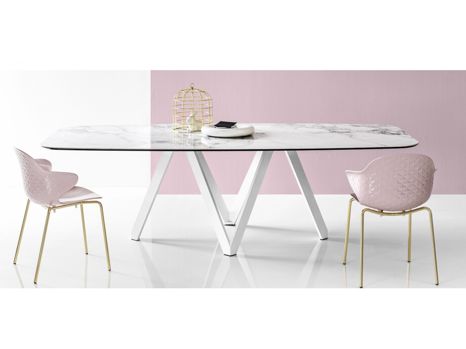 Calligaris Esstisch Cartesio 03