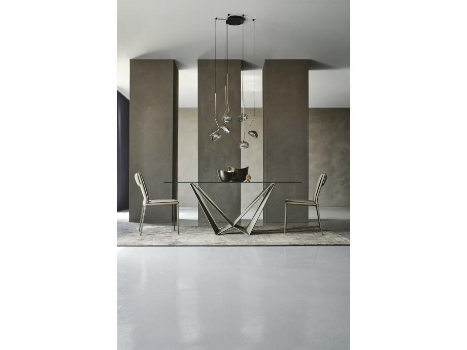 Esstisch Cattelan Skorpio NEW - Brushed Bronze / Brushed Grey 05