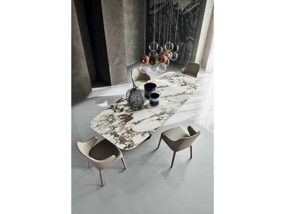 Esstisch Cattelan Skorpio Keramik - Bootsform 03