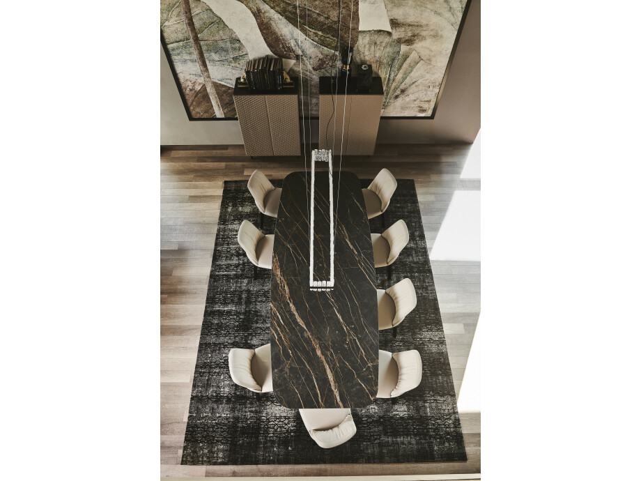 Esstisch Cattelan Skorpio Keramik - Bootsform 06